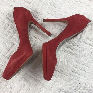 2c5606b8e81ca2 Sam Edelman Shoes - Sam Edelman Red Suede Celia Pointed Pump